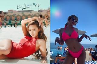 Hwasa, LE bận bikini, khoe thân hình cực chuẩn