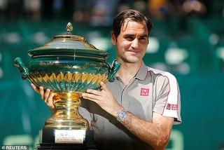 Federer đoạt danh hiệu ATP thứ 102 trong sự nghiệp