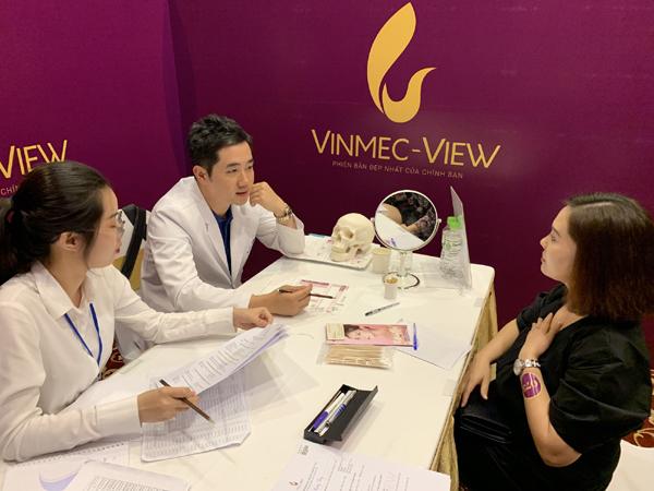 Tư vấn trực tiếp cùng chuyên gia thẩm mỹ Hàn Quốc ở Vinmec