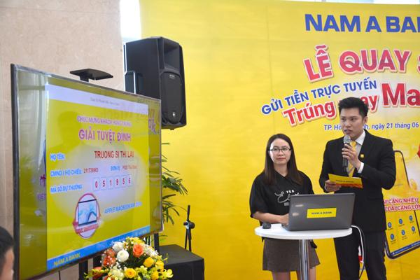 Giải thưởng Macbook Air của Nam A Bank đã có chủ
