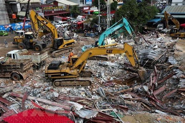 Campuchia,Sập Nhà,Xây dựng trái phép,Nhà thầu Trung Quốc
