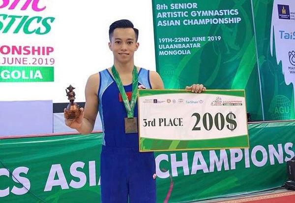 Vietnam take two Asian gymnastic bronzes