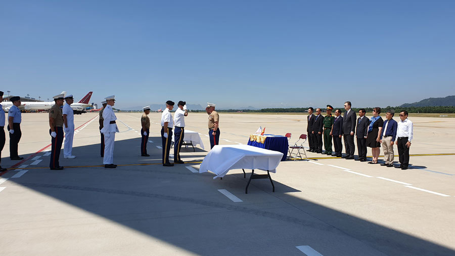 Lễ hồi hương hài cốt quân nhân Hoa Kỳ