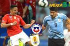 Trực tiếp Chile vs Uruguay: Chiến vì ngôi đầu bảng