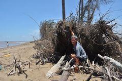 Saline intrusion, landslides challenging Mekong Delta