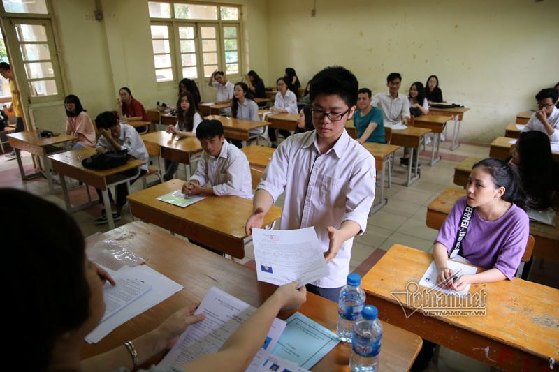 Hơn 99% thí sinh hoàn tất thủ tục thi THPT quốc gia