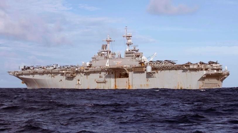 tàu chiến Mỹ,tàu lưỡng cư,căng thẳng Mỹ-Iran
