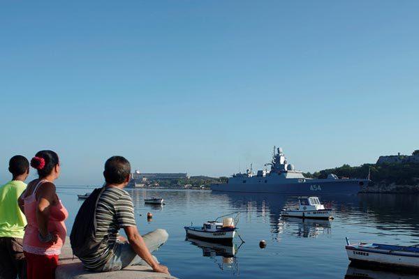 Nga,Mỹ,Cuba,tàu khu trục,tàu chiến