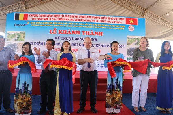 Bỉ hỗ trợ Ninh Thuận quản lý nguồn nước và tăng trưởng xanh
