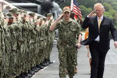 Ông Trump muốn các nước trả tiền bảo vệ eo biển Hormuz