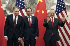 Quan chức Mỹ - Trung điện đàm, đồng ý tái khởi động đàm phán