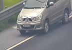 Nữ tài xế lùi xe băng băng trên cao tốc Hà Nội - Hải Phòng bị phạt 1 triệu