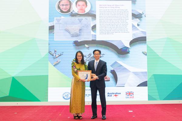 Sáng kiến ứng phó với biến đổi khí hậu Việt Nam được trao thưởng 647.000 USD