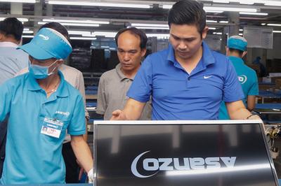 Asanzo, linh kiện Trung Quốc còn công nghệ Nhật thì chưa thể tiết lộ