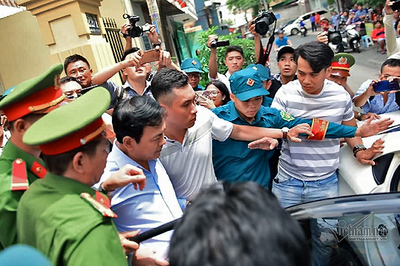 Cựu viện phó VKS Nguyễn Hữu Linh thừa nhận 3 lần ôm hôn bé gái là sai