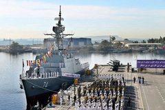 Những chiến hạm 'xương sống' của hải quân Iran