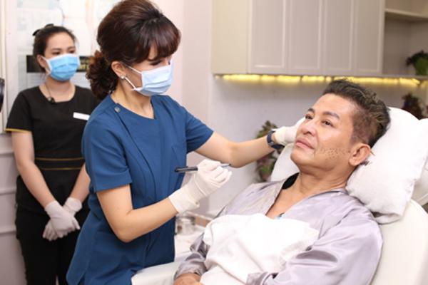 MC Thanh Bạch,viện thẩm mỹ,căng chỉ Collagen