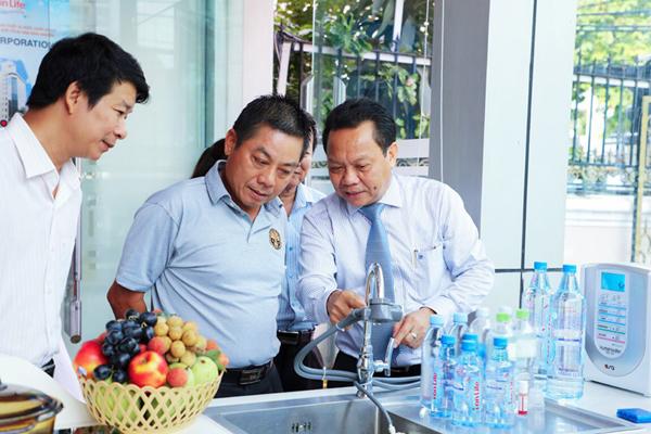 Ra mắt máy tạo nước ion kiềm công nghệ Nhật Bản
