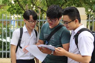 Chênh lệch từ 0,25 điểm trong bài thi THPT quốc gia sẽ được điều chỉnh