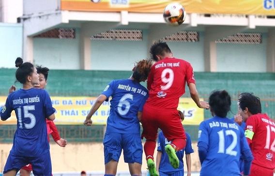Nữ Hà Nội,nữ Thái Nguyên,Bóng đá nữ,Giải nữ VĐQG 2019