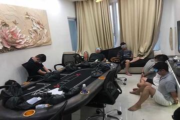 Phá sòng bạc trong chung cư hạng sang ở Sài Gòn