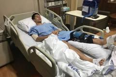 Đình Trọng phẫu thuật thành công tại Singapore