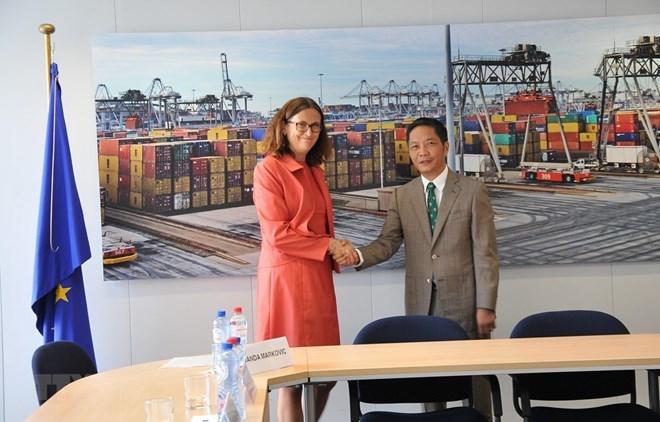 Vietnam, EU to sign EVFTA on June 30 in Hanoi