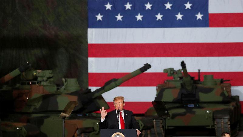 Mỹ,Iran,chiến tranh,căng thẳng Mỹ - Iran,Donald Trump