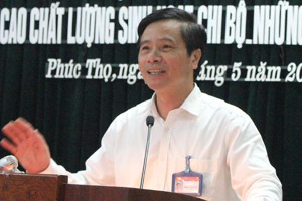 Bí thư huyện ở Hà Nội bị cách hết chức vụ trong Đảng