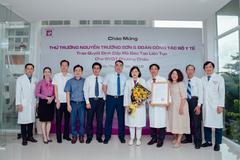 Bộ Y tế cấp mã đào tạo liên tục cho BVQT Phương Châu