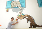 Street Art Bus Tour paints murals to raise awareness about wild-animal protection