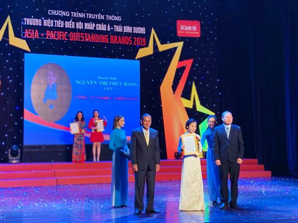 Cashwagon vào top 10 Thương hiệu tiêu biểu hội nhập Châu Á - Thái Bình Dương 2019