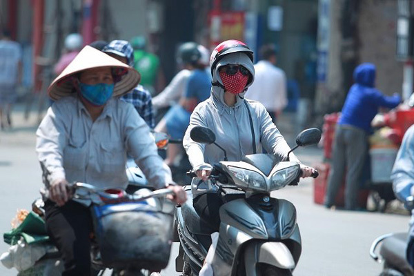 Dự báo thời tiết 27/6, Hà Nội ngày nắng gắt tối mưa dông