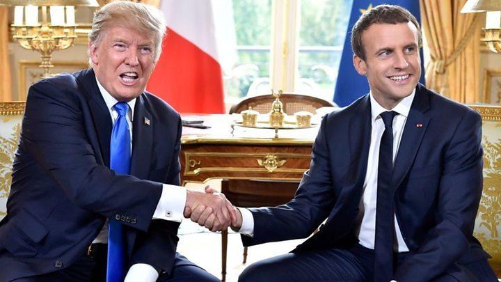 Mỹ,Pháp,Donald Trump,Iran