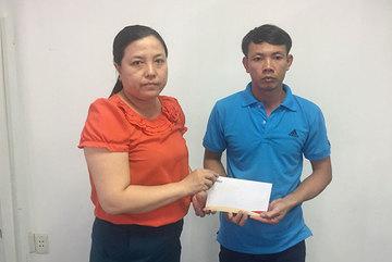 Bé Trần Văn Đạt được bạn đọc ủng hộ gần 600 triệu đồng