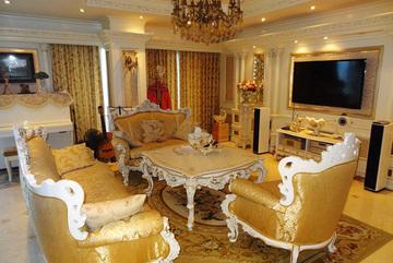 Đại gia Hà Nội chơi trội phủ vàng khách sạn từ chân tới nóc
