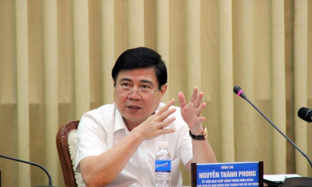 Thủ Thiêm,Sai Phạm Thủ Thiêm,Nguyễn Thành Phong