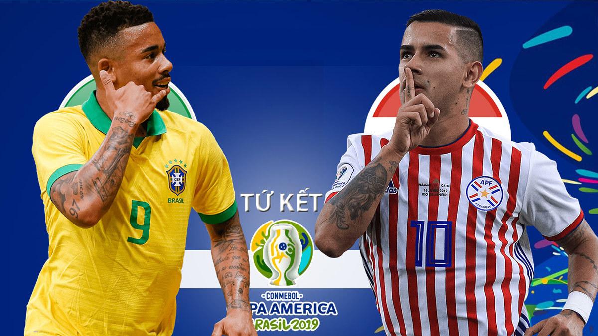 Brazil vs Paraguay: Hiểm nguy rình rập
