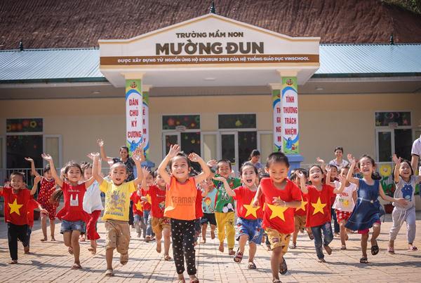Edurun và giấc mơ về ngôi trường mầm non cho trẻ nghèo Điện Biên