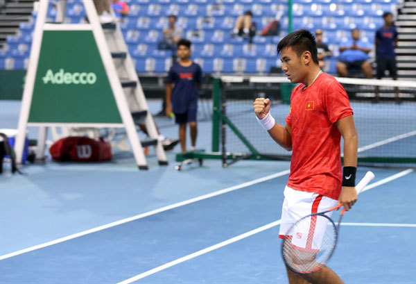 Vietnam beat Sri Lanka in Davis Cup