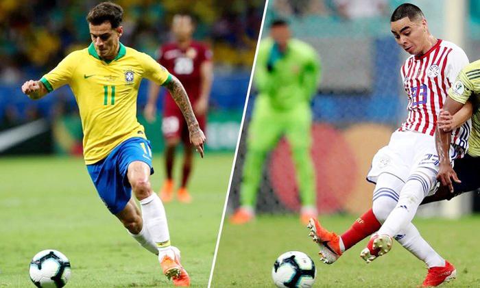 Trực tiếp Brazil vs Paraguay: Chủ nhà giương oai