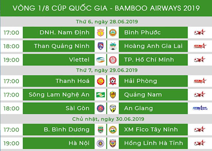 Cúp quốc gia: Quảng Nam và Hải Phòng vào tứ kết