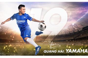 Giờ mới biết vì sao Quang Hải thành Đại sứ thương hiệu Yamaha…