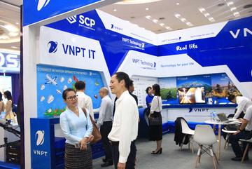 VNPT giới thiệu nhiều giải pháp công nghệ ở Lao ICT Expo 2019