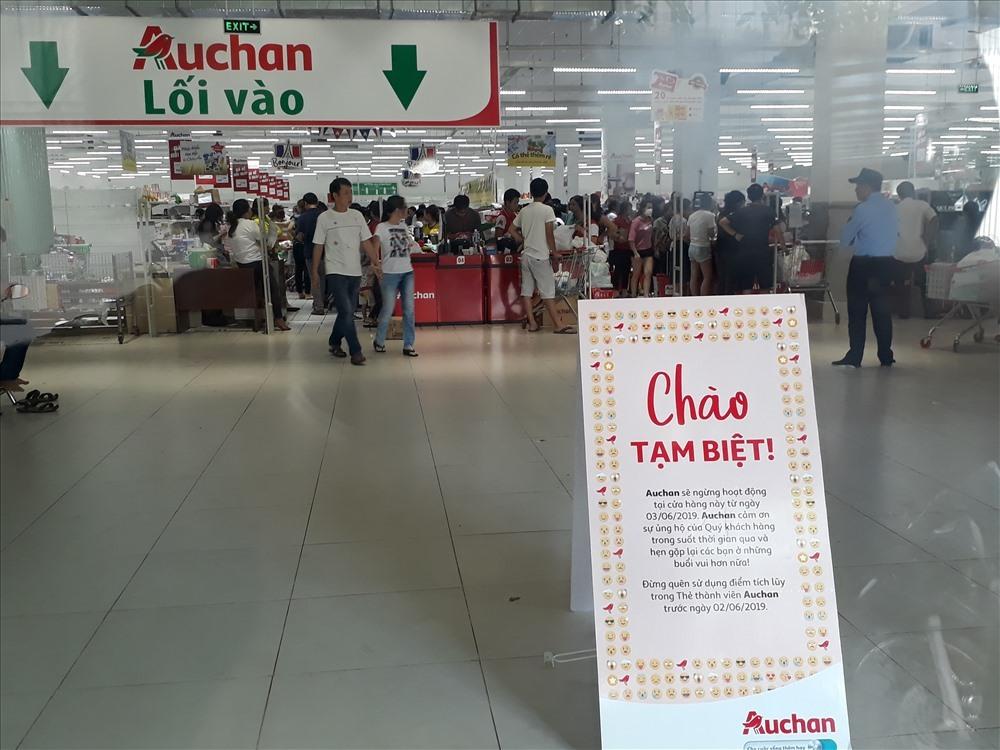 Auchan đóng cửa,Auchan bán lại,bán lẻ,Auchan