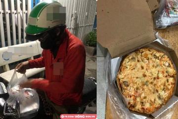 Shipper đau khổ vì bị 'bom' pizza: Chạy cả ngày cũng chẳng đủ lo cho cả gia đình