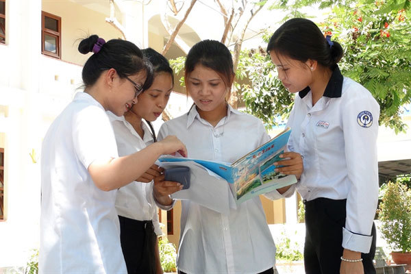 Students finish national high school examination