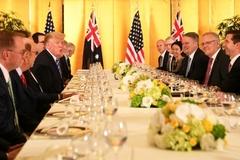 Trước G20, lãnh đạo Mỹ - Australia bàn về liên minh toàn cầu chống Iran