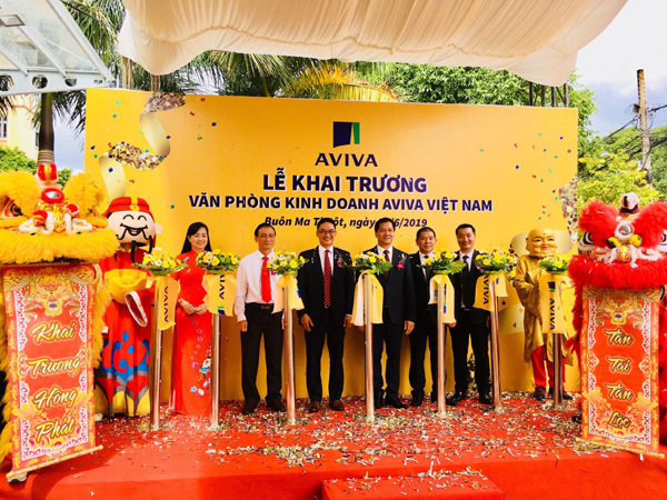 Aviva Việt Nam khai trương văn phòng kinh doanh ở Buôn Ma Thuột