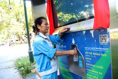 Vị đặc biệt lần đầu xuất hiện trong công viên ở Hà Nội